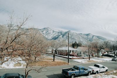 View of the mountains from Breakfast Nook