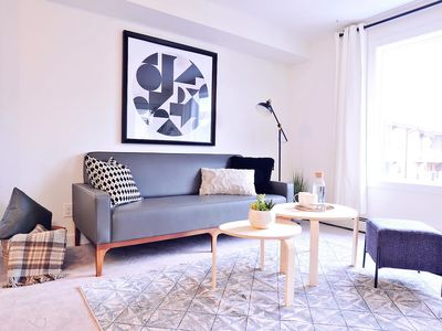 Photo for Brand New 2 BDR Luxury Condo. 10 min. to Airport