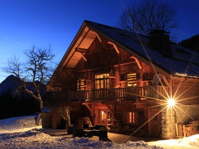 Photo for EXCEPTIONAL CHALET NEAR THE TRACKS