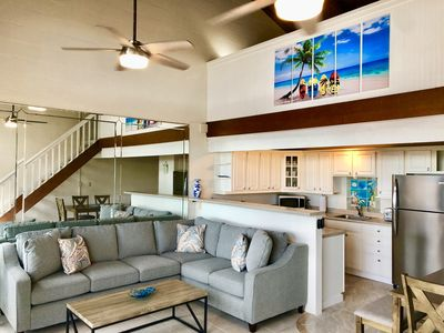 Living Room - Beautifully decorated, this condo is ideal for your Maui getaway!