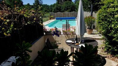 Photo for Homely Cottage with Heated swimming pool in the Loire Valley