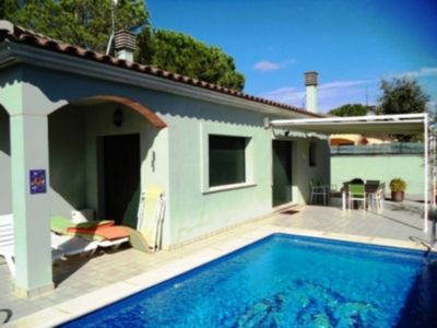 Photo for Comfortable house for 6 pers. with private pool in L'Escala