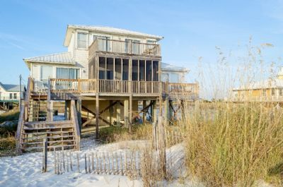 Photo for Summerscape - Beautiful 4 Bedroom Gulf Front Private Beach Home, Sleeps 10
