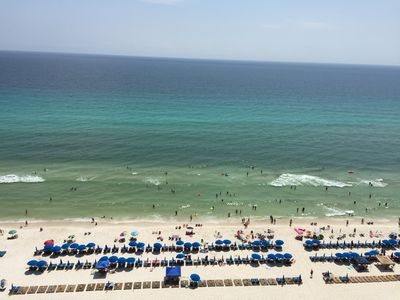 Photo for Amazing Gulf View Condo * Pool *Free WiFi* Free Parking *Beach Equipment.