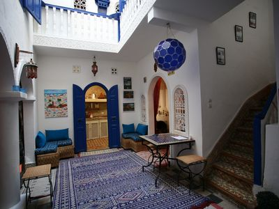 Photo for Riad Terre d'Azur, welcome home! charm and comfort in the heart of the Medina