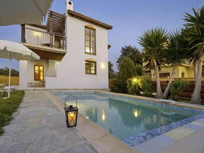 Photo for Latchi Beach - Front Line 3 Bed Beach Villa - Private Pool
