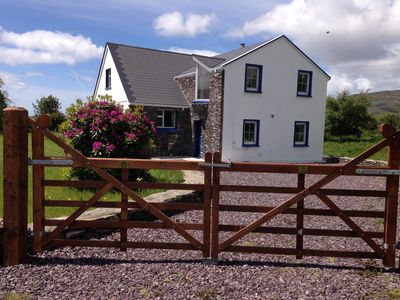 Photo for Beachside holiday home in stunning location overlooking the wild Atlantic way.
