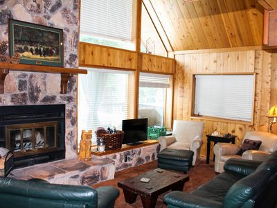 Photo for Dancing Bear Den - Lake View, Knotty Pine, Pets Welcome