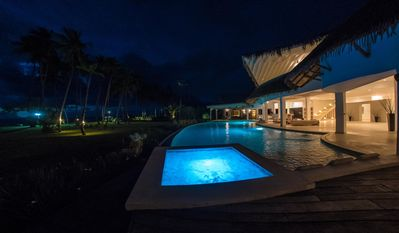 Photo for Luxury villa on the beach with 13 bedrooms,16 bathrooms, pool, jacuzzi,..