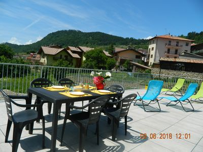 "Photo for ""The Sunflower"" Apartment. RELAX in the mountains near Lake Garda"