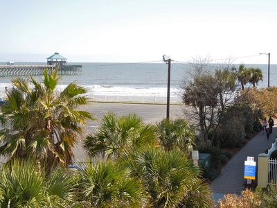 Photo for Pier Pointe Villas C102 - Steps from the Beach, Pier and Downtown Folly