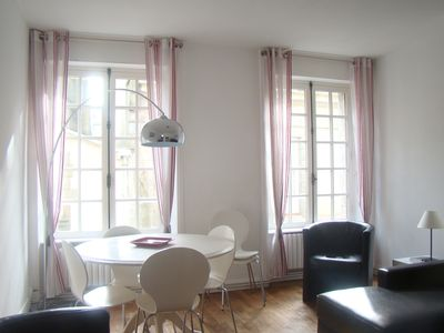Photo for Saint-Malo, in the walled city, 2 bedrooms, Wi-Fi, white bedclothes