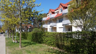 Photo for Fantastic apartment in a beautiful location at the spa! 100m. to the Scharmützelsee!