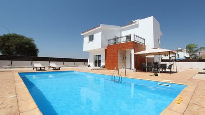 Photo for Fantastic Family Villa with amazing Sea Views and Private Pool !!
