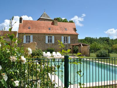Photo for Beautiful villa for 9 people with private pool