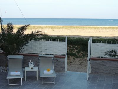 Photo for House in front of the beach of Balestrate