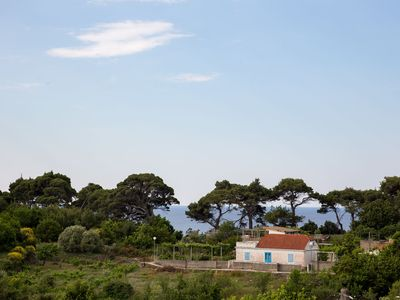 Photo for Island Dubrovnik apartment +garden,70m from sandy beach and restaurant,free WIFI