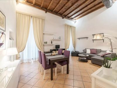 Photo for One step from the PANTHEON - Elegant Apt x4! NEW