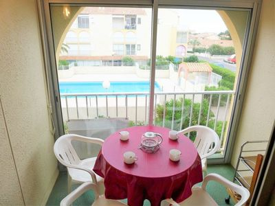Photo for Apartment in Narbonne with Parking, Internet, Pool, Balcony (96071)