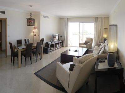 Photo for An exquisite luxury 3 B/R, 3 bath duplex penthouse in a modern style