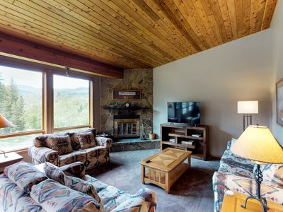 Photo for NEW LISTING! Townhome with shared hot tub and pool, minutes away from slopes!