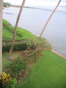 Another view from the lanai looking down