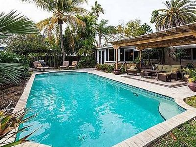 Photo for Ft Lauderdale Waterfront Home Beautiful 3 Bedrm Relaxing Pool Fun Sun Sand