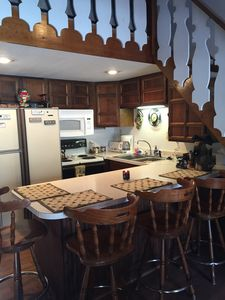 """""""galley"""" kitchen but includes ALL amenities"""