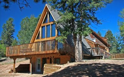 Willis Brown Chalet - the side with the Pikes Peak view
