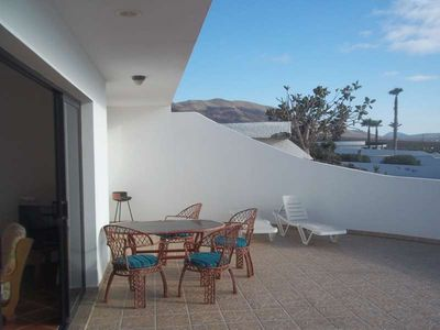 Photo for Bungalow TOFFUR in Famara for 6 persons with terrace, garden, views to the ocean, views of the volcanoes, WIFI on the go and less than 500m to the sea