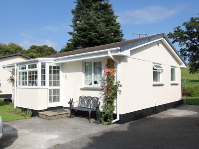 Photo for CORNWALL RIVERSIDE LODGE ROSECRADDOC  Peaceful Tranquil  Site Free Wi-fi,parking