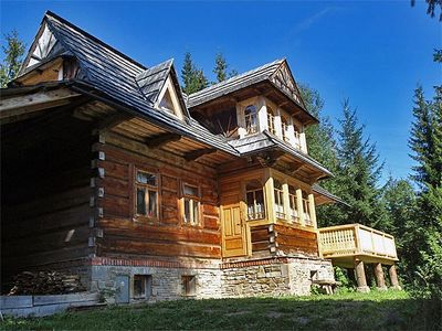 Photo for Holiday apartment Zakopane with fireplace and mountain view