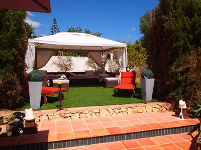 Photo for Luxury villa in spacious grounds, 14 people, SKY,WIFI -  Large Jacuzzi, part A/C