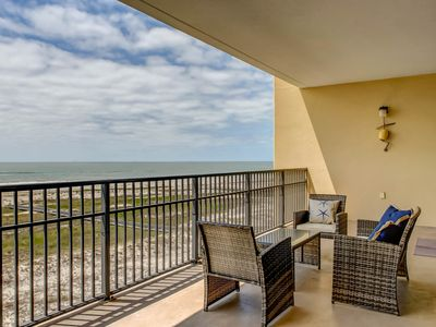 Photo for NEW LISTING! Condo w/amazing views of the beach features shared pools & hot tub