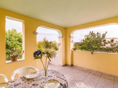 Photo for Sardinia, north eastern coast - Two-room apartment with veranda and private parking