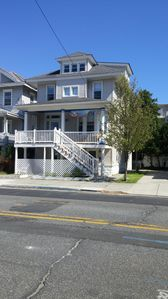 Photo for Center city first floor apartment walking distance from beach, and main street.