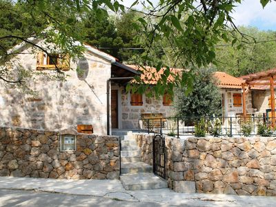 Photo for Authentic, rustical villa for 12 persons, interiour swimming pool,fenced garden