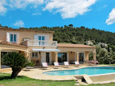 Photo for Carqueiranne Holiday Home, Sleeps 10 with Pool and Free WiFi