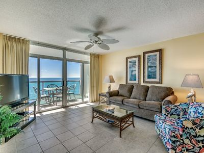 Photo for 11th Floor Condo, Tiled Living Room, Lazy River | Crescent Keyes - 1106
