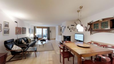 Photo for Nice and quiet 3-room apartment on the raised ground floor (no direct access to