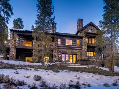 Photo for Luxurious Mountain Lodge featuring privacy and amazing views! Close to Breck!