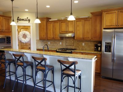 Photo for Beautiful custom home minutes from Colorado Springs, the USAFA, and Denver.