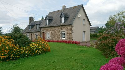 Photo for country house with free wifi quiet 45 minutes from Mont St Michel