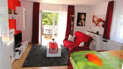 Photo for Sunny apartment near the lake with 62 m²