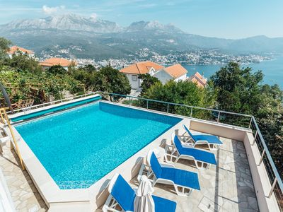 Detached Villa with Private Heated Pool and Uninterrupted View of Boka Kotorska