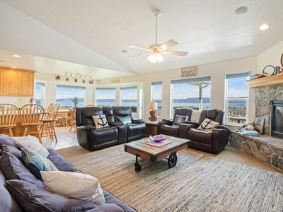 Photo for Spacious, family friendly home near town w/ a large deck & amazing views