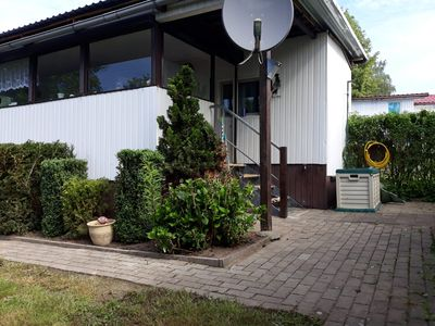 Photo for Holiday house / bungalow in Gravelotte directly at the Kummerower lake