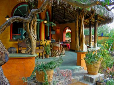 Photo for El Encanto - Artful Luxury in a Rustic Setting by the Sea