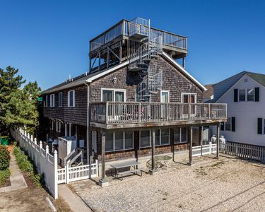 Photo for Ocean Block Pet Friendly 6 BR Duplex only Steps to the Beach