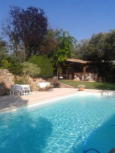 Photo for HOUSE IN LAS ROZAS 20 MIN. OF MADRID WITH PRIVATE PISICINA, GARDEN, TENNIS AND GOLF